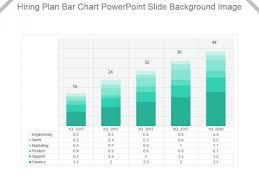 30 Off Chart Hiring Plan Bar Chart Powerpoint Slide Background Image
