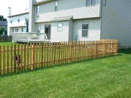 picket fence costs cedar picket fence fence completed 2 how much does a cedar picket fence