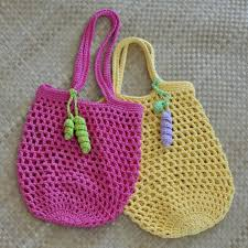 Crochet Mesh Market Bag Pattern