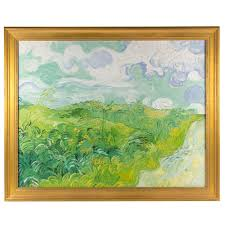 vincent van gogh green wheat fields 22 canvas print framed