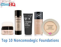 10 best non edogenic foundations