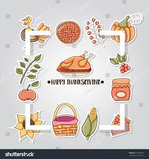 printable thanksgiving greeting cards thanksgiving greeting card concept minimalistic style stock vector