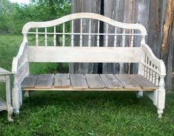 diy upcycled rustic bedhead bench rustic furnitureoutdoor