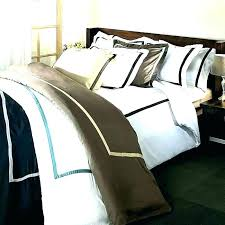 hotel collection duvet cover king covers luxury woven stripe white k