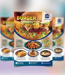 Flyer Design Food Food Flyer Design On Student Show