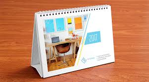Calender Design Template Table Calendar Design Template And Mock Up Psd 2017