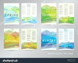 4 Sided Brochure Template One Sided Brochure Template Two Best Photos Of Double Leaflet Ideas