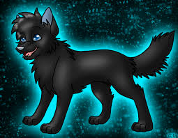 anime black wolf with blue eyes. Contemporary With Black Wolf Pup Request By JediMasterMossfurpng In Anime With Blue Eyes