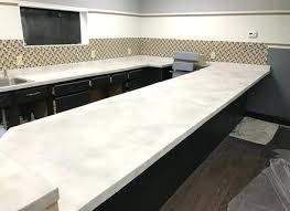 white concrete countertop best ideas for paint mix s white concrete countertop tutorial mix uk