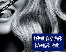 natural treatments to repair bleached damaged hair