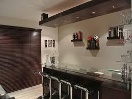 Modern home bar furniture House Indoor Home Bar Ideas Features Wonderful White Brown Wood Glass Stainless Simple Design Home Bar Bobitaovodainfo Furniture Modern Home Bar Ideas Be Equiped With Rectangle Shape