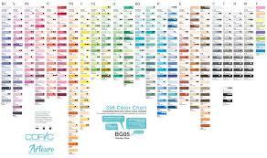 Copic 358 Color Chart Artouro Enterprise Artouro Brunei