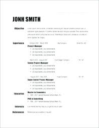 Open Office Resume Awesome Resume Templates For Open Office Simple Resume Examples For Jobs