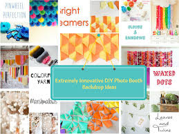 top 22 extremely creative diy photo booth backdrop ideas simply amazing