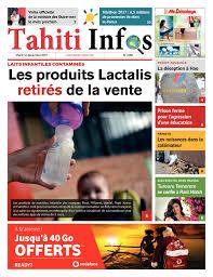 Calam O Tahiti Infos N 1056 Du 12 D Cembre 2017