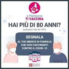 Il Piemonte ti vaccina - Comune di Romentino