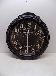 ... Charming Wall Clock Pottery Barn Restoration Hardware Clocks Black  Round Wall Clock With White