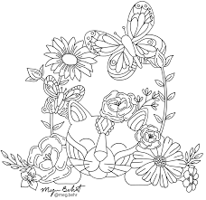 You can use this printable on the ipad using the procreate app or on your planner, using your favorite brushes and. Coloring Pages Megan Behrendt