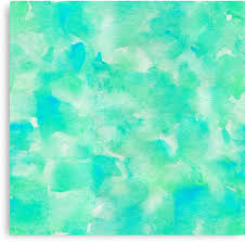 lovely abstract art watercolor pattern in seafoam green by linepush on seafoam green canvas wall art with lovely abstract art watercolor pattern in seafoam green canvas