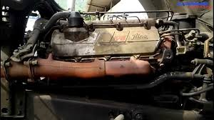 hino ef v engine view