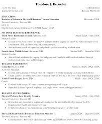 Objective For Teaching Resume nursery teacher resume micxikineme 56