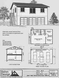 Apartment Plan Garage Plans Two Car Story With Outside Awesome Two Story Garage Apartment