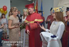 Выпускники вузов и колледжей Гродно получили дипломы Главное  Выпускники вузов и колледжей Гродно получили дипломы