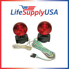 amazon com easy install magnetic towing trailer light tail lights amazon com easy install magnetic towing trailer light tail lights automotive