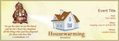 Free House Warming Invitation With Indias 1 Online Tool