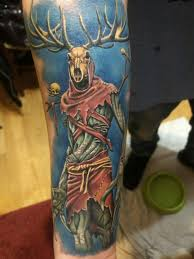 Leshen From The Witcher 3 Done By Adrian In Fantattoo Madrid