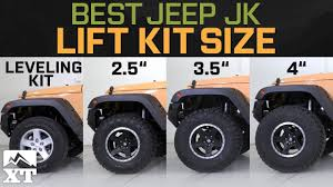 Lift Kit Tire Size Chart How To Choose A Jeep Lift Kit Mods Youll Need To Support It