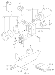 Hydraulic pump with electric motor control unit audi a4 s4 cabrio qu aa4c usa 2005 year