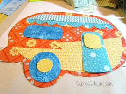 Happy Camper Quilted Pot Holders! | Patterns, Happy campers and Craft & Free camper pot holders pattern! #sewing Adamdwight.com