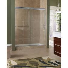h semi framed sliding shower door