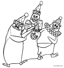 Small Picture Printable Madagascar Coloring Pages For Kids Cool2bKids