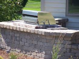 kenmore natural gas grill. image of brilliant brick and stone patio for modular outdoor kitchen cabinets with 6 burner natural kenmore gas grill