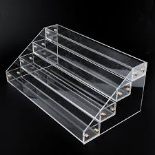 Acrylic Tiered Display Stands 100 Tier 1000 Bottles Clear Acrylic Display Stand Rack Organizer Nail 10