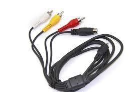 samsung tv lead. multi av a/v audio video tv cable cord lead for samsung hmx-f80 bp sp | ebay tv e