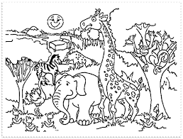 Small Picture Lovely Ideas Zoo Coloring Page Pages 2 Nice For Kids Coloring Pages