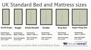 Bed And Mattress Sizes Large Diagram Single Bed Size Bed And