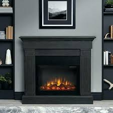 grey electric fireplace greystone manufacturer gray by real flame entertainment center
