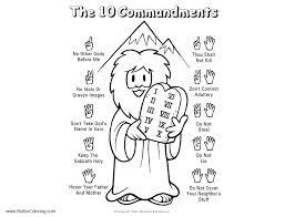 10 Commandments Coloring Pages Unique Ten Mandments Coloring Pages