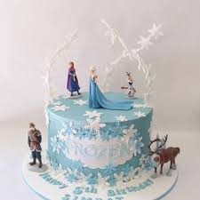 Frozen Theme Cake Cake By Cakes For Mates Cakesdecor