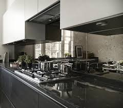 Mirrored Kitchen Splashbacks - Saligo Design presents a stunning ...