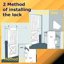 sliding barn door lock barn door latches and handles john house decor cane with barn door