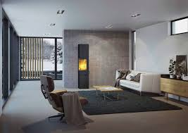 Wood heating stove / contemporary / corner / double-sided Q-BE XL attika