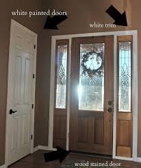 front door paint colors 2Front Door Makeover From Stain to Paint  Hometalk