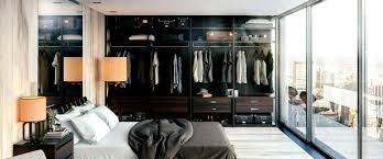 Open Closets Small Spaces Marvelous Master Bedrooms With Unique Wardrobes Ideas Seeur