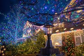 Christmas Lights For Street Lights Christmas Lights Up Britains Most Festive Street In