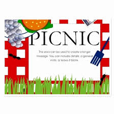 Picnic Template Picnic Flyer Template Free Fresh Pany Picnic Flyer Unique Free Bbq